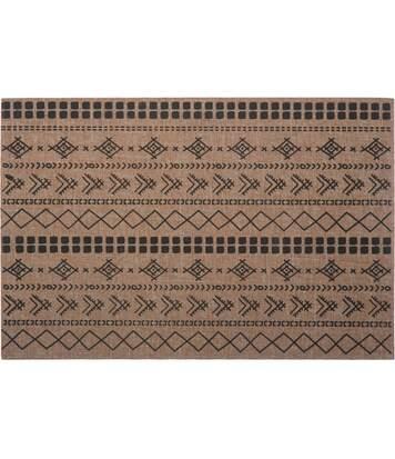 Set de table ethnique Tahila - L. 30 x l. 45 cm - Noir