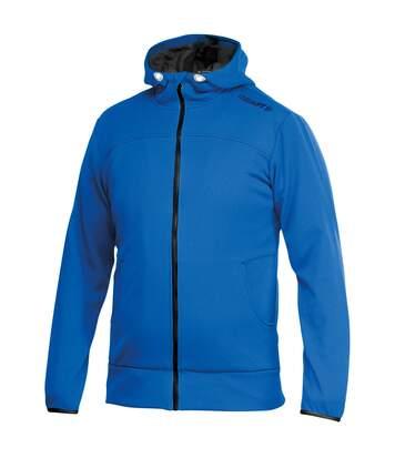 Craft Mens Leisure Athletic Full Zip Hoodie Jacket (Swedish Blue) - UTRW4131