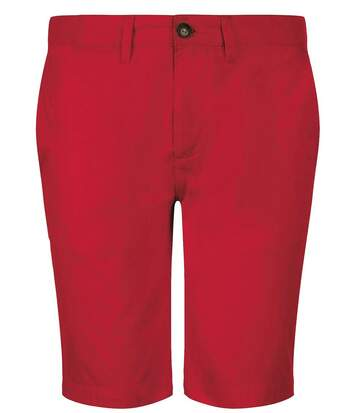 Bermuda chino - homme - 01659 - rouge