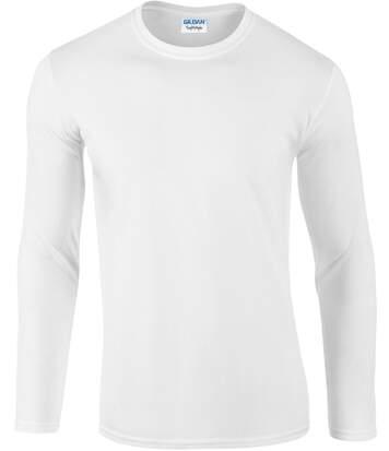 T-shirt manches longues White