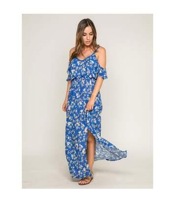 Robe longue à imprimé floral IPOMEE - Dona X Lisa