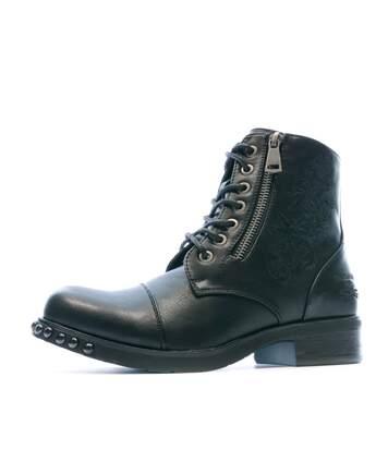 Boot Noir Femme Redskins Sabine
