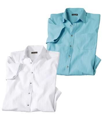 Комплект Рубашек из Крепона — 2шт. от Atlas For Men