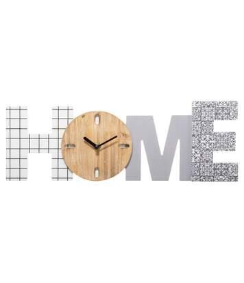 Pendule à Poser Design Home 40cm Multicolore