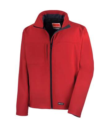 Result Mens Softshell Premium 3 Layer Performance Jacket (Waterproof, Windproof & Breathable) (Red) - UTBC2046