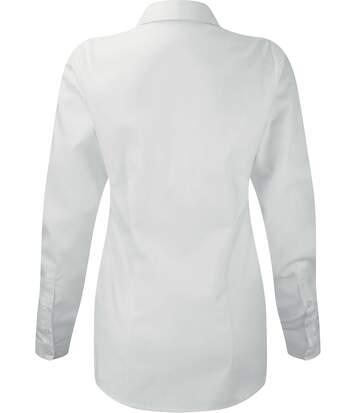 Chemise à chevrons manches longues