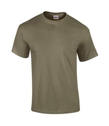 Gildan Mens Ultra Cotton Short Sleeve T-Shirt (Purple) - UTBC475
