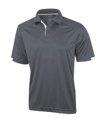 Elevate Mens Kiso Short Sleeve Polo (Pack of 2) (Steel Grey) - UTPF2499