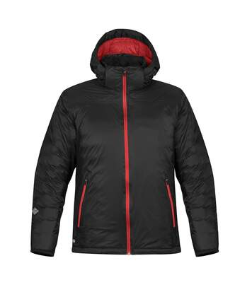 Stormtech Mens Black Ice Thermal Jacket (Black/Red) - UTRW5980