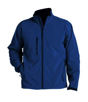 SOLS Mens Relax Soft Shell Jacket (Breathable, Windproof And Water Resistant) (Abyss Blue) - UTPC347