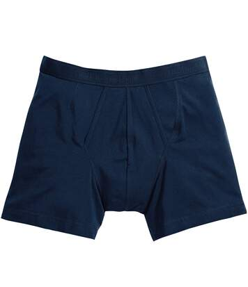 Fruit Of The Loom Mens Classic Boxer Shorts (Pack Of 2) (Deep Navy) - UTBC3358
