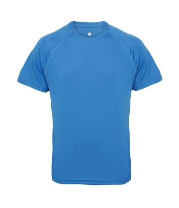 Tri Dri Mens Panelled Short Sleeve T-Shirt (Sapphire) - UTRW4799