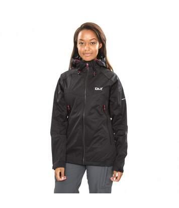 Trespass Womens/Ladies Erika II Waterproof DLX Jacket (Black) - UTTP3614