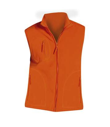 Sols - Polaire Sans Manches Norway - Homme (Orange) - UTPC346