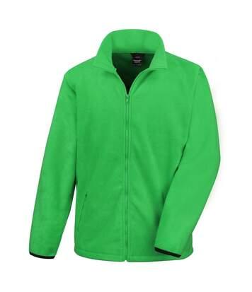 Result Mens Core Fashion Fit Outdoor Fleece Jacket (Vivid Green) - UTBC912