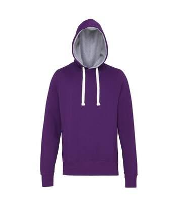 Awdis Just Hoods - Sweatshirt À Capuche - Homme (Gris foncé) - UTRW3484