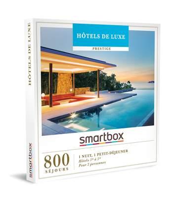 SMARTBOX - Hôtels de luxe - Coffret Cadeau Séjour