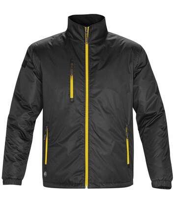 Stormtech Mens Axis Water Resistant Jacket (Black/Sundance) - UTBC2079