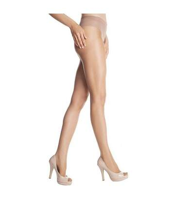 DIM Collant Femme Transparent VENTRE PLAT SUBLIM Gazelle 15D