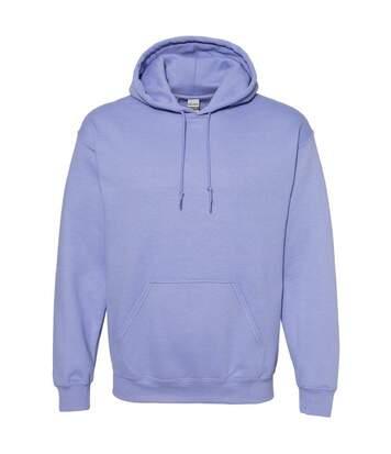 Gildan Heavy Blend Adult Unisex Hooded Sweatshirt / Hoodie (Violet) - UTBC468