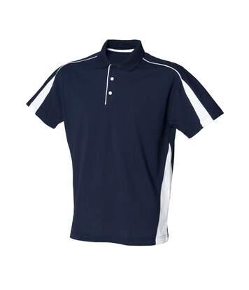 Finden & Hales Mens Club Polo Shirt (Navy/White) - UTRW431
