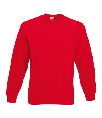 Fruit Of The Loom - Sweatshirt - Homme (Rouge) - UTRW3159