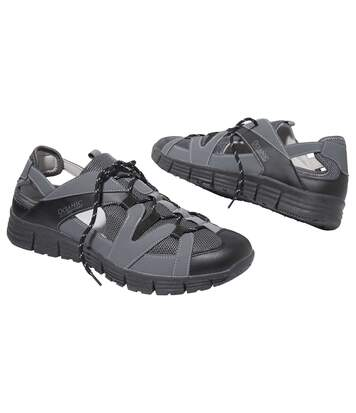 Men's Grey Casual Outdoor Sandals