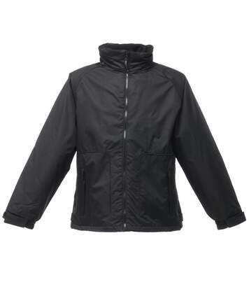 Regatta Mens Waterproof Windproof Jacket (Fleece Lined) (Black) - UTRW1183
