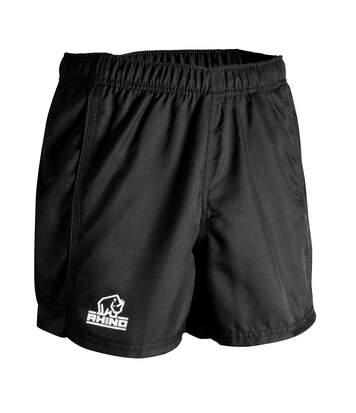 Rhino Mens Auckland Rugby Shorts (Black) - UTRW6465