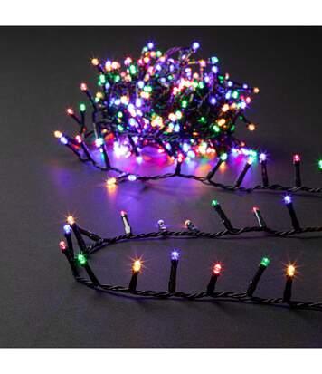 Feeric Christmas - Guirlande Lumineuse Intérieure et Extérieure 11 m 336 LED Multicolore et 8 jeux de lumière