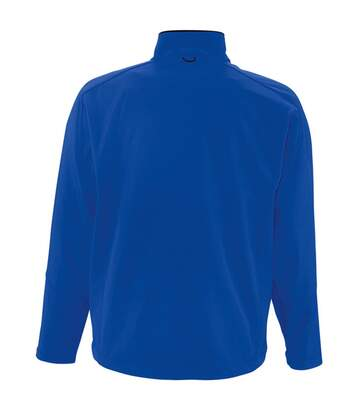 SOLS Mens Relax Soft Shell Jacket (Breathable, Windproof And Water Resistant) (Royal Blue) - UTPC347
