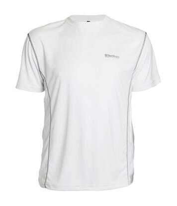 T-shirt manches courtes technique aero blanc