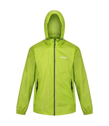 Regatta Mens Lyle IV Waterproof Hooded Jacket (Lime Punch) - UTRG3476