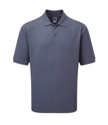 Russell Mens Classic Short Sleeve Polycotton Polo Shirt (Convoy Grey) - UTBC566