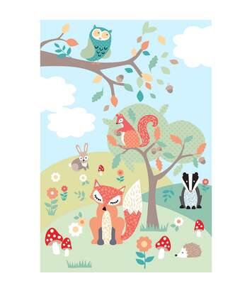 Riva Home Woodland - Poster (Multicolore) - UTRV1057