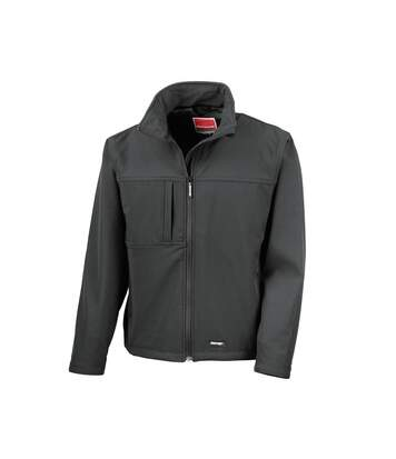 Result Mens Classic Softshell Breathable Jacket (Black) - UTBC857
