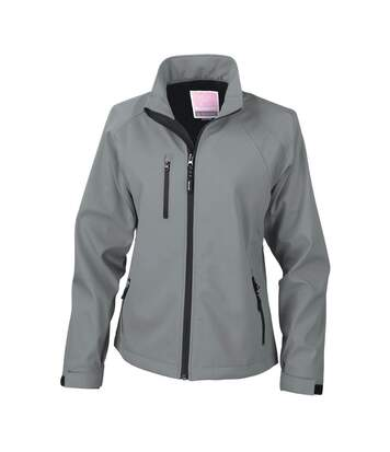 Result Ladies/Womens La Femme® 2 Layer Base Softshell Breathable Wind Resistant Jacket (Navy Blue) - UTBC863