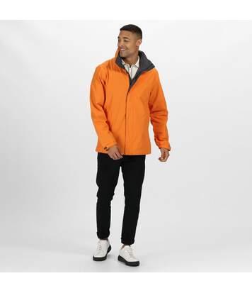 Regatta Mens Standout Ardmore Jacket (Waterproof & Windproof) (Sun Orange/Seal Grey) - UTBC3041