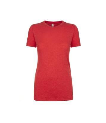 Next Level - T-Shirt Manches Courtes - Femme (Rouge chiné) - UTPC3496