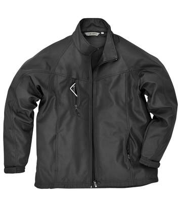 Portwest Mens Oregon Soft Shell Jacket (Black) - UTRW1019