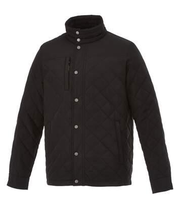 Slazenger Mens Stance Insulated Jacket (Solid Black) - UTPF1785