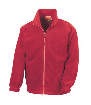 Result Mens Full Zip Active Fleece Anti Pilling Jacket (Red) - UTBC922