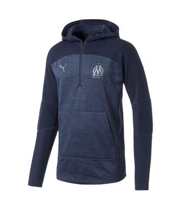Olympique de Marseille Sweat bleu marine homme Puma