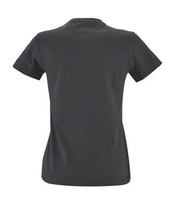 Sols - T-Shirt Imperial - Femme (Kaki chiné) - UTPC2907