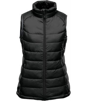 Doudoune sans manches femme - AFV-1W noir - qualité premium