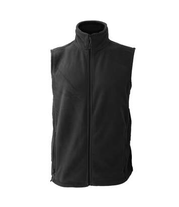 Jerzees Colour Fleece Gilet Jacket / Bodywarmer (Black) - UTBC576