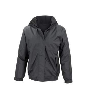 Result Core Ladies Channel Jacket (Black) - UTBC913
