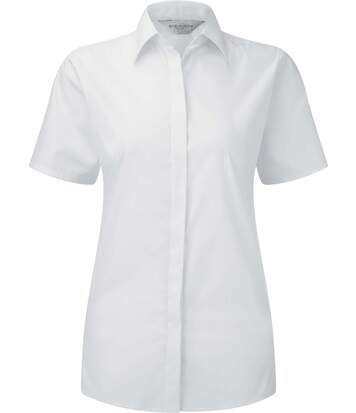 Chemise stretch manches courtes