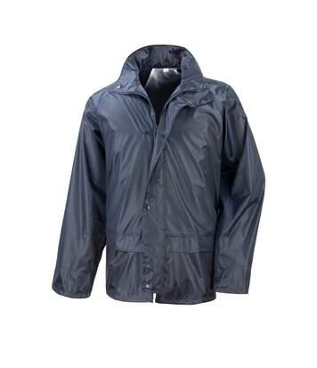 Result Mens Core Stormdri Rain Over Jacket (Navy Blue) - UTBC2055