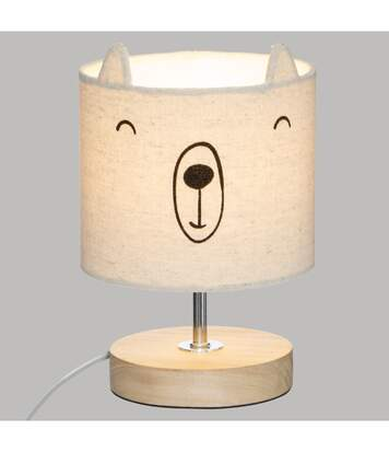 Atmosphera - Lampe Abat-jour Ourson H 21 cm